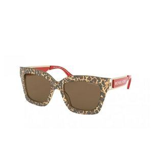 Brand new Michael KORS leopard and red shades.